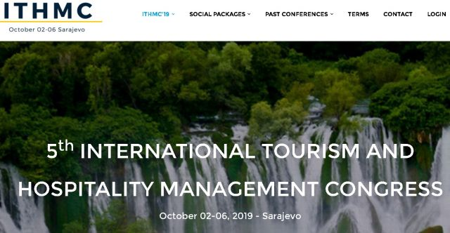 5th International Tourism and Hospitality Management Conference (ITHMC)