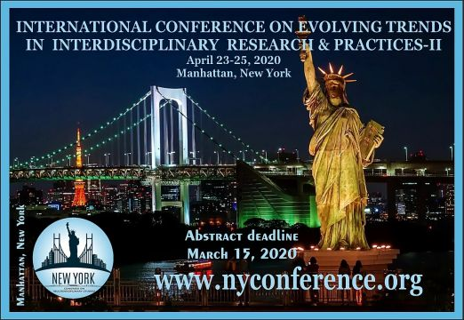 2nd INTERNATIONAL CONFERENCE ON EVOLVING TRENDS IN INTERDISCIPLINARY RESEARCH & PRACTICES