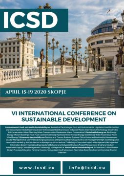 6TH INTERNATIONAL CONFERENCE ON SUSTAINABLE DEVELOPMENT